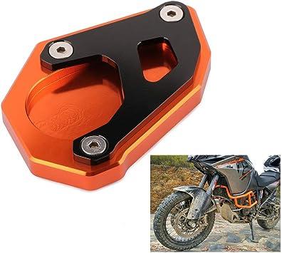 Un Xin motorcycle CNC piede cavalletto laterale supporto prolunga Pad supporto piatto per Kawasaki Versys 650/VERSYS650/2015/2016/2017/2018/Street Bike