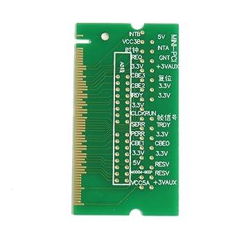 Reparar Mini-PCI de memoria simulada Load Card 59mm x 32mm para el ordenador portátil del cuaderno: Amazon.es: Electrónica