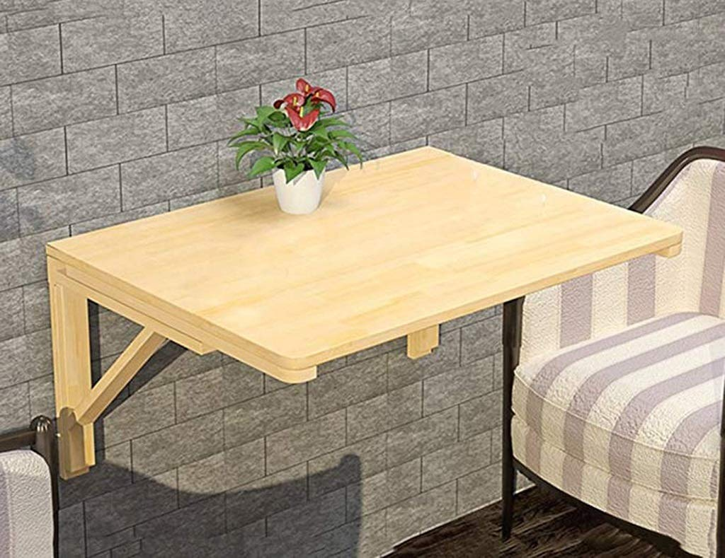 Fällbart bord, kök matsal droppblad bord väggmonterad dator laptop bord skrivbord för små utrymmen (färg: 80 cm x 50 cm) 60cm*40cm
