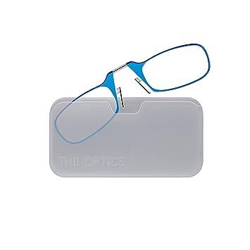 Amazon.com: ThinOptics Reading Glasses + White Universal Pod Case ...