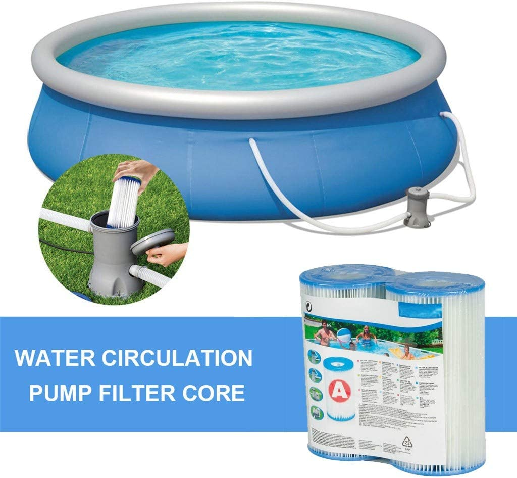 Compatible with 300//330 Gal//h DODKL Inflatable Swimming Pool Filter Element Dark Blue 6pc Type I 3.1 x 3.5 Inch 220-240 V Filter Pumps