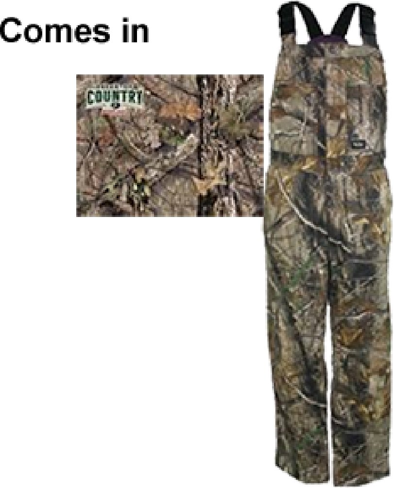 Walls - Womens 93205 Walls Insulated Bib Overall, Size: Small, Color: Mossy Oak Breakup Country