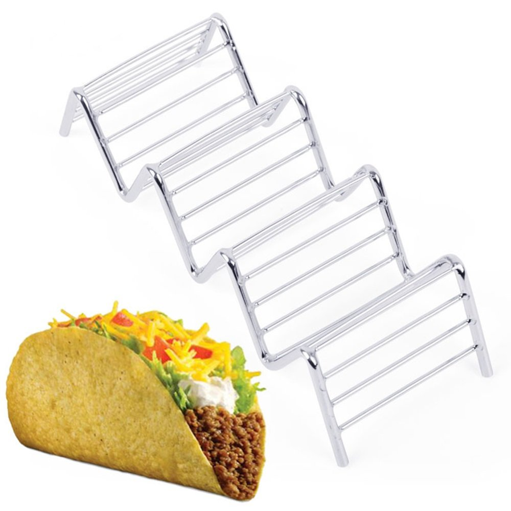 Wave Shape Taco Holders Mexican Food Rack Hot Dog Holder Stand Taco Rack Display Home & Garden Utensils