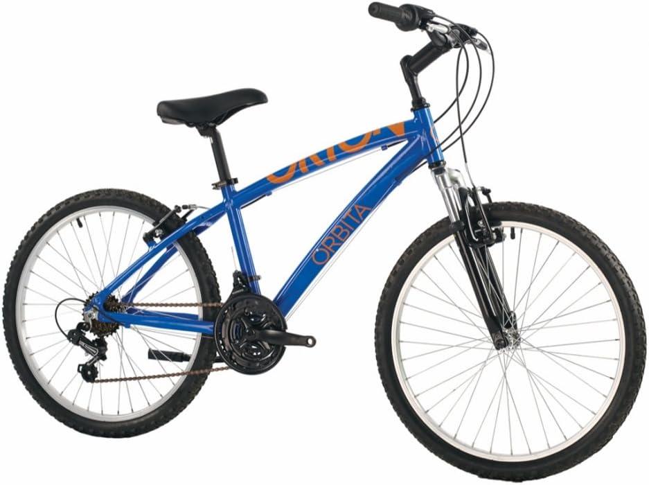 Orbita BTT 24 Orion Bicicleta, Hombre, Azul, 14: Amazon.es ...
