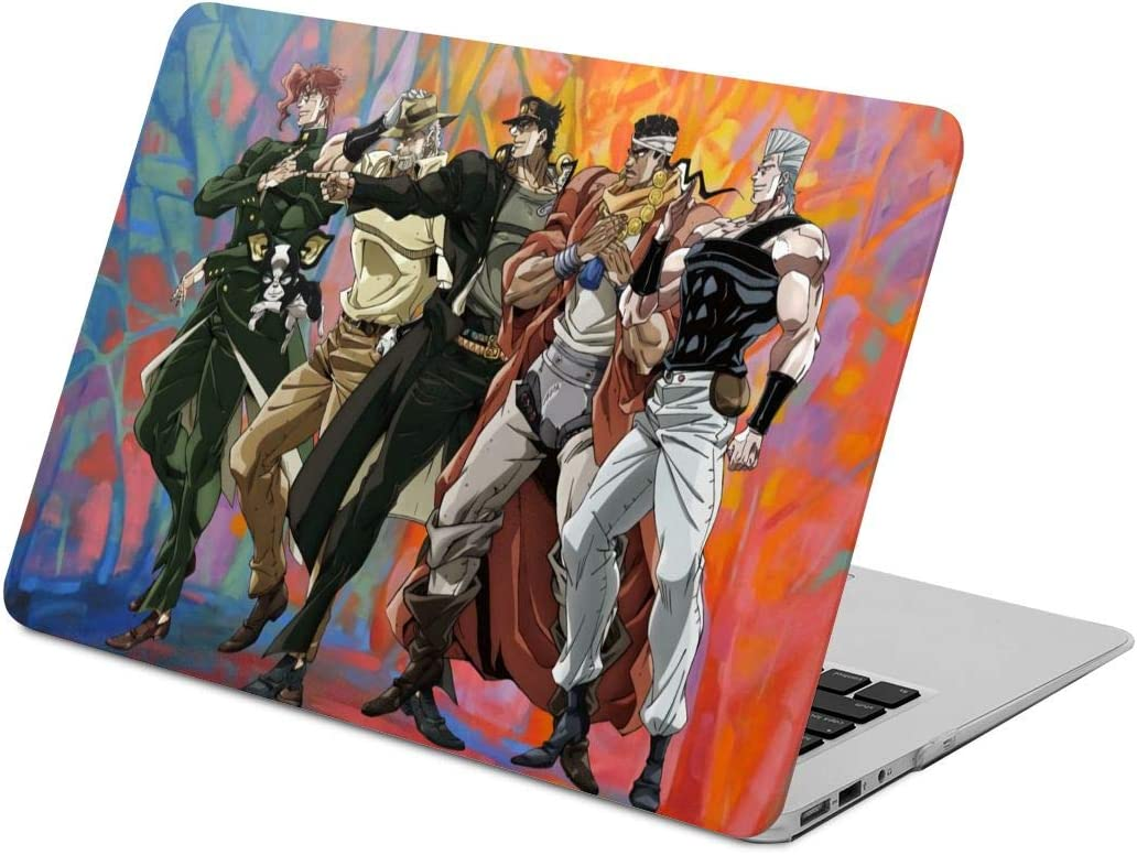JoJos Bizarre Adventure MacBook Case,Scratch Resistant Wearable Laptop Hard Shell Cover Protective Case Release A1466 A1369 A1932 A1990 for Apple MacBook New air13