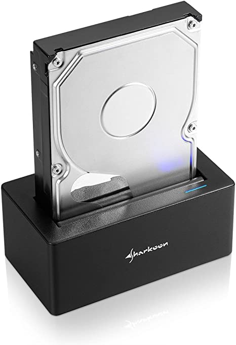 Sharkoon QuickPort USB 3.1 Type C - Base de Conexión para Disco ...