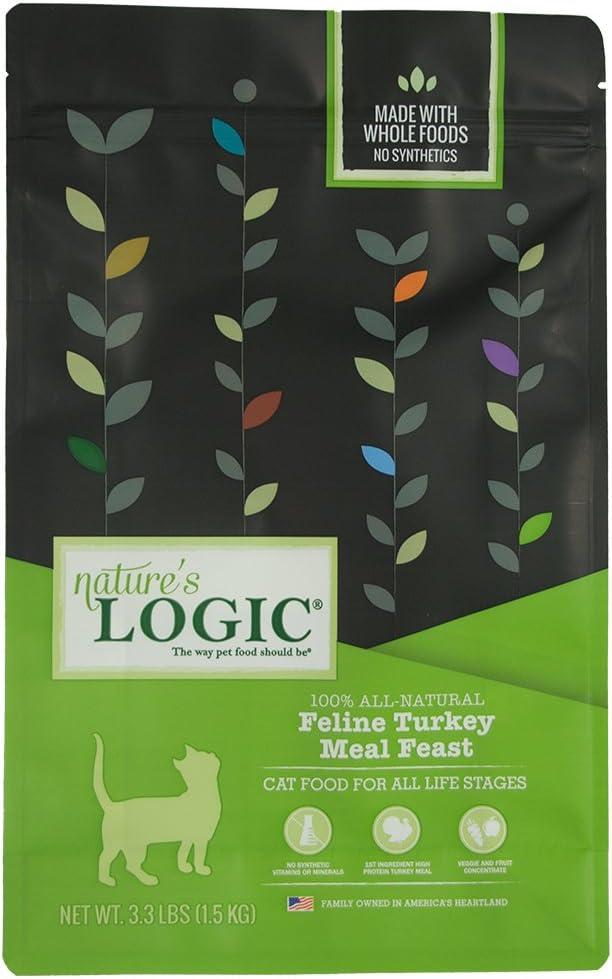Nature'S Logic Feline Turkey Meal Feast, 3.3Lb