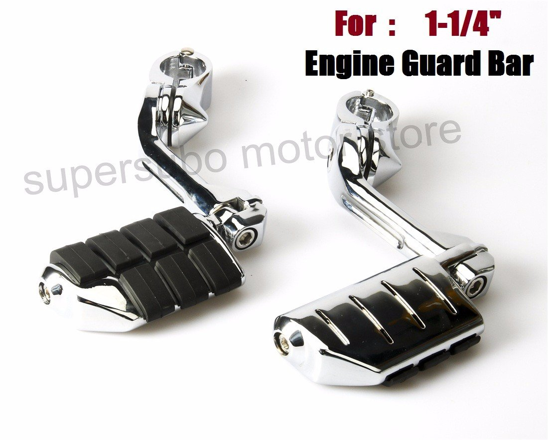 1.25'' 1 1/4'' Engine guard footpegs harley Highway pegs For Harley Touring Softail Dyna Sportster