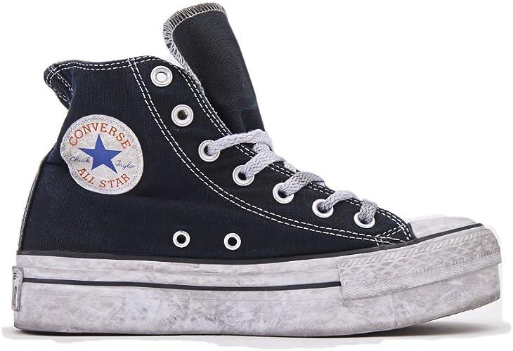 all star converse platform alte nere