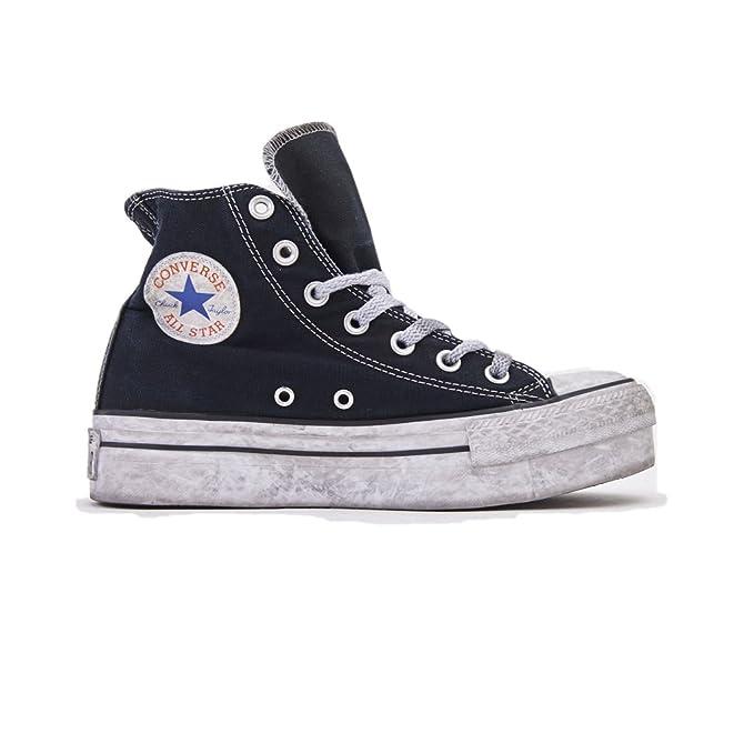 Zapatos de Mujer Zapatillas Converse All Star Alta con Plataforma Negra Ed Ltd Primavera Verano 2018: Amazon.es: Zapatos y complementos