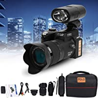 Full HD digitalkamera, D7200 33MP 3 tum TFT LCD Display Videokamera DSLR inbyggd 24 x optisk zoom + 1080P HD video + 128…