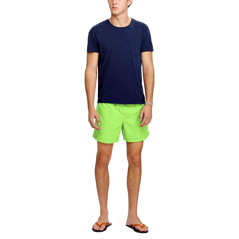 Polo Ralph Lauren Hawaiian-Swim - Bañador para Hombre, Verde ...