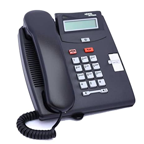 Norstar T7100 Telephone Charcoal By Nortel