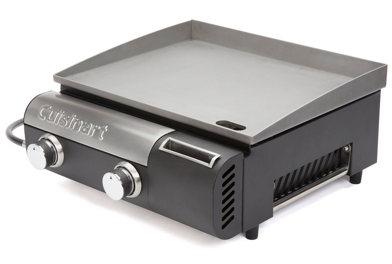 Cuisinart CGG-501 Gourmet Two Burner Gas Griddle