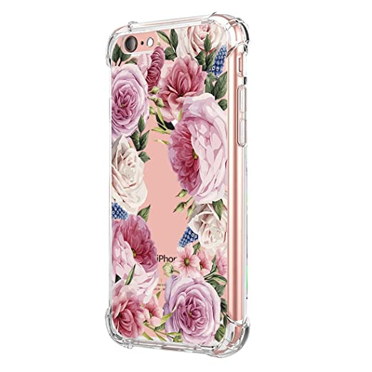 amazon com phone case for iphone 6 6s plus, vanki clear slim softphone case for iphone 6 6s plus, vanki clear slim soft tpu shock design
