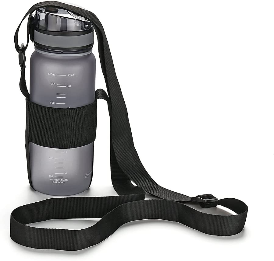 Universal Water Bottle Carrier Strap Handle Rope for Walking Hiking Cycling