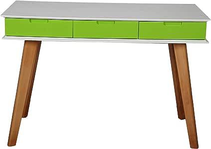 Vogue Computer Desk, Multi Color - H 110 cm x W 75 cm x D 50 cm