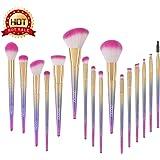 Docolor Makeup Brushes,16Pcs Fantasy Make Up Set Foundation Eyebrow Concealer Cosmetic Eyeshadow Brushes Kits