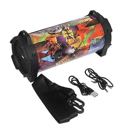 Amazon.com : YSCysc Bluetooth Speaker Portable Subwoofer ...