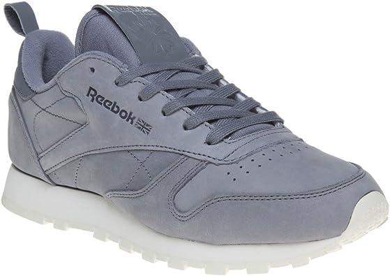 Melódico Conjugado Hueco  Reebok Classic Leather Mujer Zapatillas Gris: Amazon.es: Zapatos y  complementos