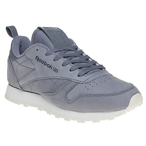 Reebok Classic Leather Mujer Zapatillas Gris: Amazon.es: Zapatos y complementos