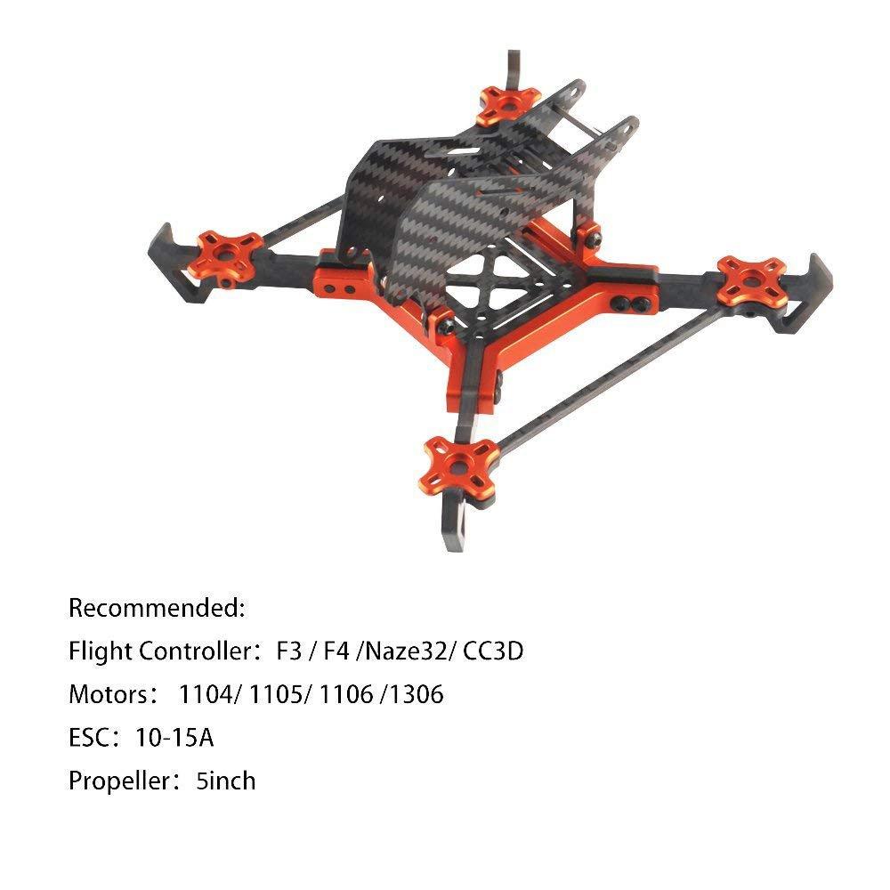 220mm FPV Racing Frame Carbon Fiber 5 Inch 4mm: Amazon.de: Computer ...