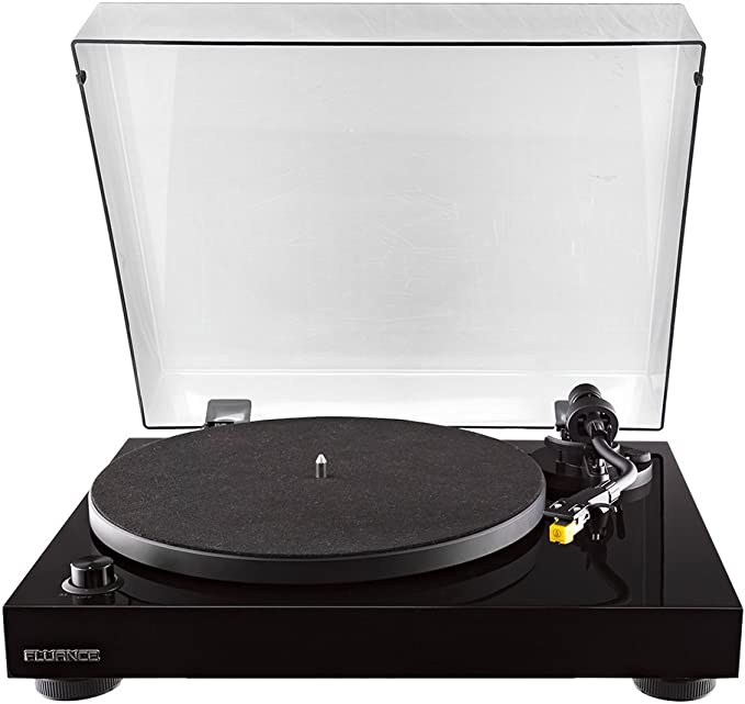 Fluance RT80 Classic High Fidelity Vinyl Turntable Record Player with Audio Technica AT91 Cartridge, Belt Drive, Built-in Preamp, Adjustable ...