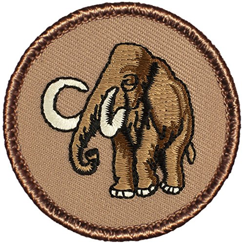 Wooly Mammoth Patrol Patch - 2