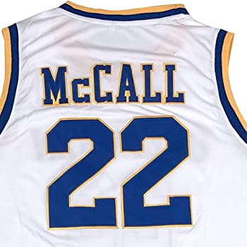 N-A Mens Quincy McCall Monica 22 Wright 32 Crenshaw High School Basketball Jersey Love and Basketball Stitched