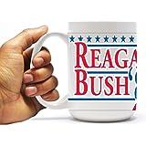 Reagan and Bush '84 15oz Coffee Mug