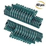 Plant Clips Spring Gardening Clips for Supporting Stems Stalks and Vines 40Pcs