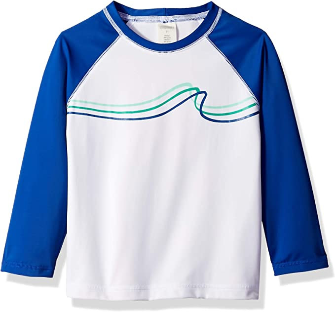 Gymboree Big Boys Short Sleeve Casual Knit Swim Top