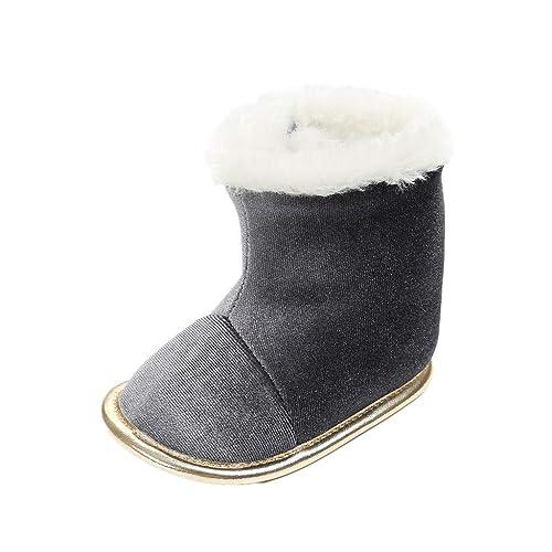 Zapatos para bebé Auxma Zapatos de Las niñas niño de los bebés de Invierno, los