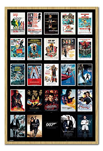 James Bond 007 Movie Posters Including Spectre Poster Beech