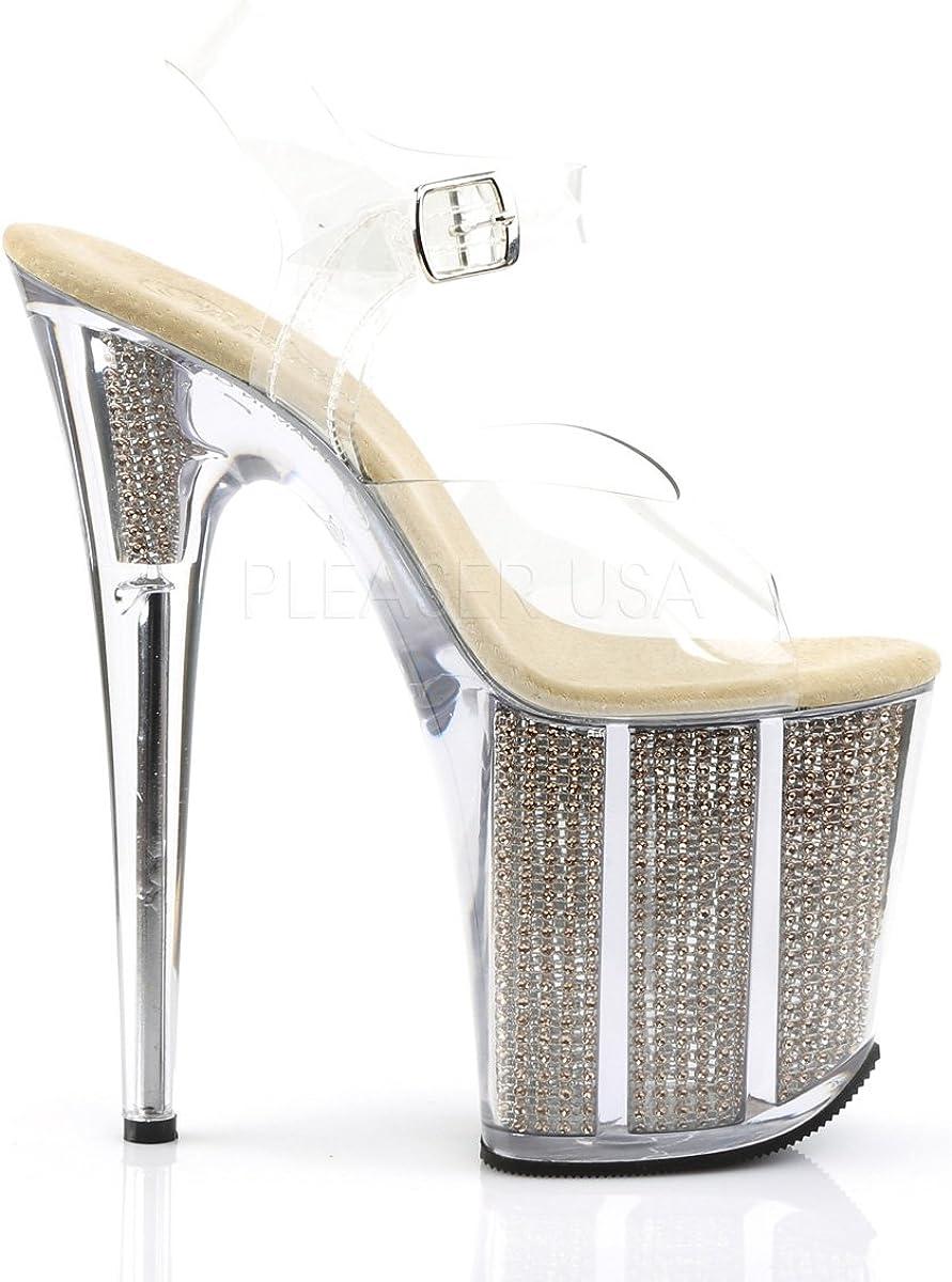 Pleaser Womens Flam808srs//c//g Platform Sandal