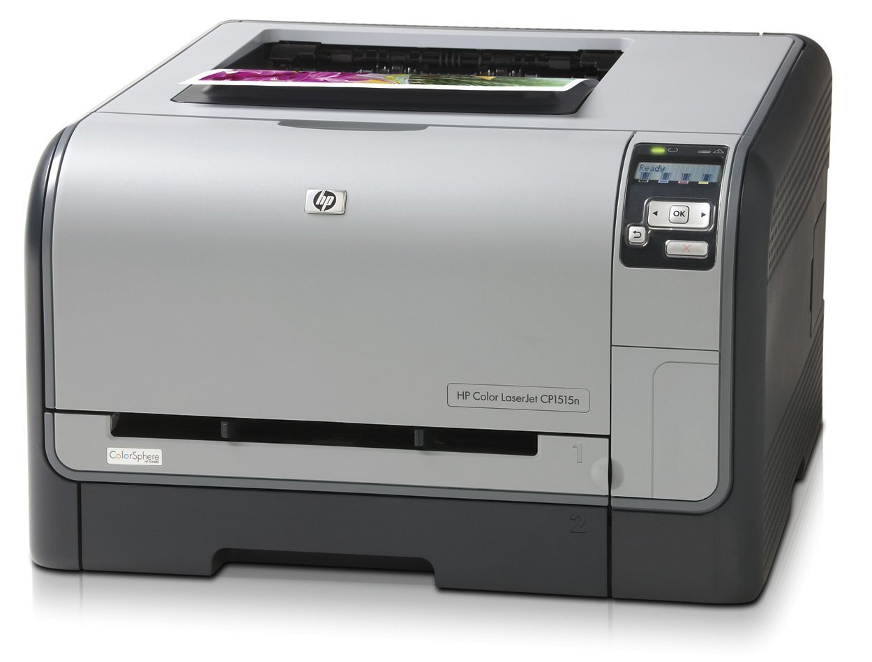 HP Color LaserJet CP1515N Farblaserdrucker Hewlett Packard CC377A