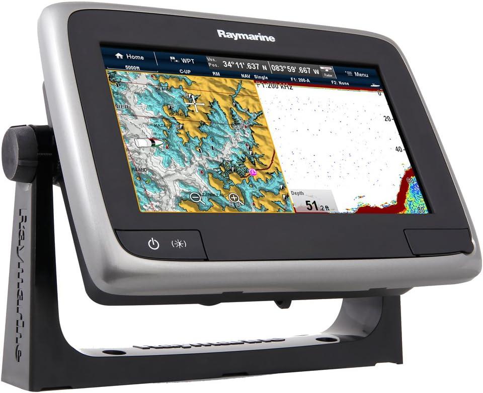Raymarine Aserie - A77 Pantalla Táctil Multifunción WiFi/Fishfinder 7 Pulgadas con El Faro De NOAA Diseño Vectorial: Raymarine: Amazon.es: Electrónica