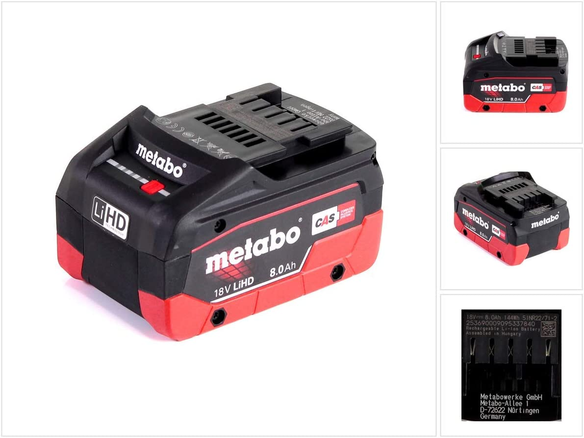 4,0 Ah 625367000 Metabo Akkupack LiHD 18V