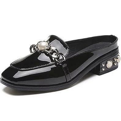 nuovo stile di vita stile squisito negozio ufficiale Baotou Semi Pantofole 2018 Nuove Ciabatte Femminili Moda Estiva ...