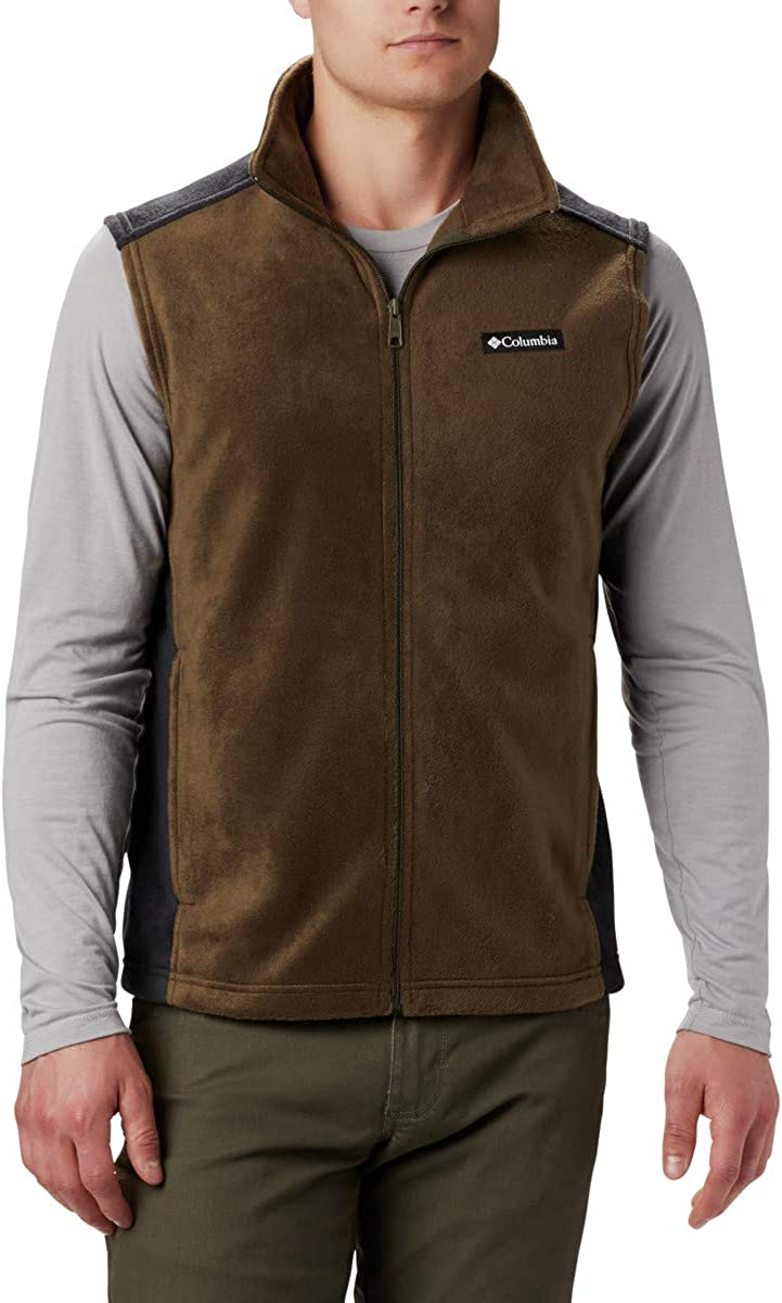 Columbia Mens Steens Mountain Full Zip Soft Fleece Vest Fleece Vest