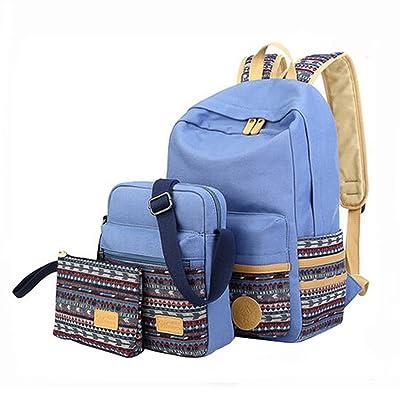 épaules de mode sac/Elèves Sac/épaules école Voyage Sac à dos ?Trois pièces