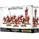 Warhammer Daemons of Khorne Bloodletters (10 Miniatures) by Warhammer Fanatasy