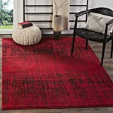 Safavieh Adirondack Collection ADR116F Red and Black Modern Abstract Area Rug (4′ x 6′) Review