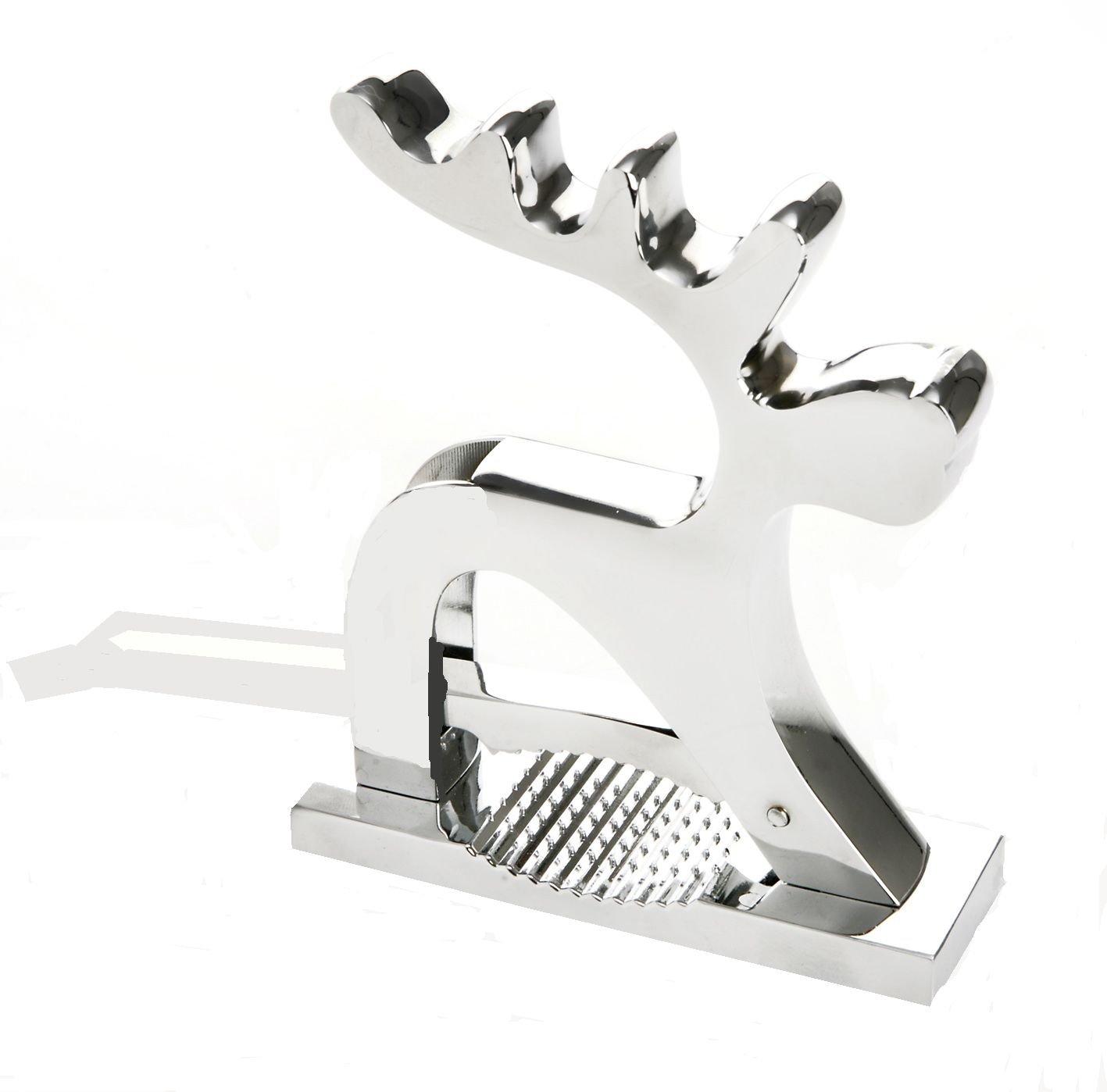 Eddingtons Reindeer Nutcracker, Chrome 83001