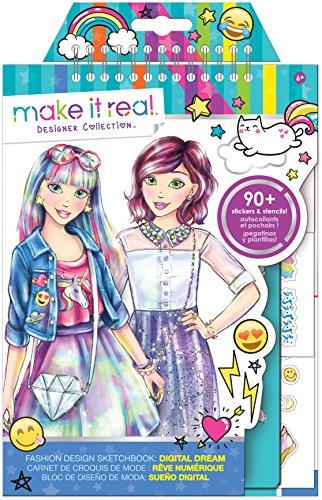 Fashion Design: Digital Dream Kawaii Anime Emoji Stickers Sketch - Fashion Real