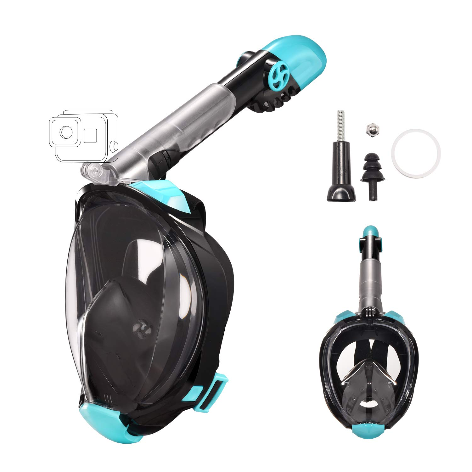 Full Face Snorkel Kit