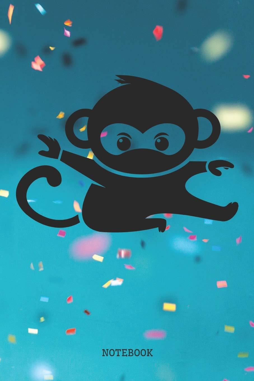 Notebook: Funny Baby Monkey Ninja Totem Planner / Organizer ...