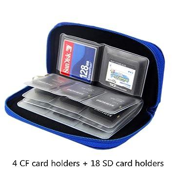 Amazon.com: Myymee 4 soportes de tarjetas CF + 18 soportes ...