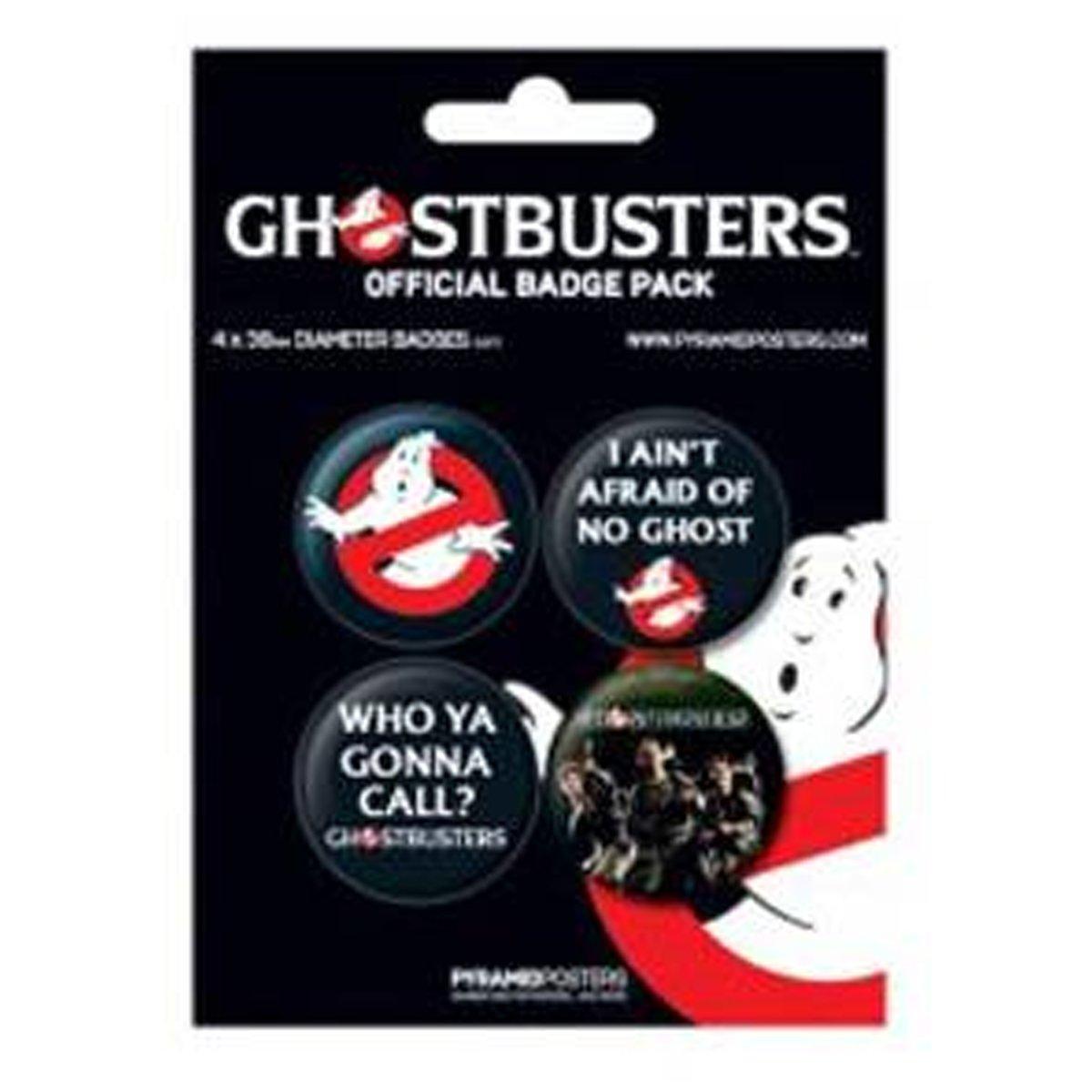 Ghostbusters Badge Set Ghostbusters in 3,8 cm