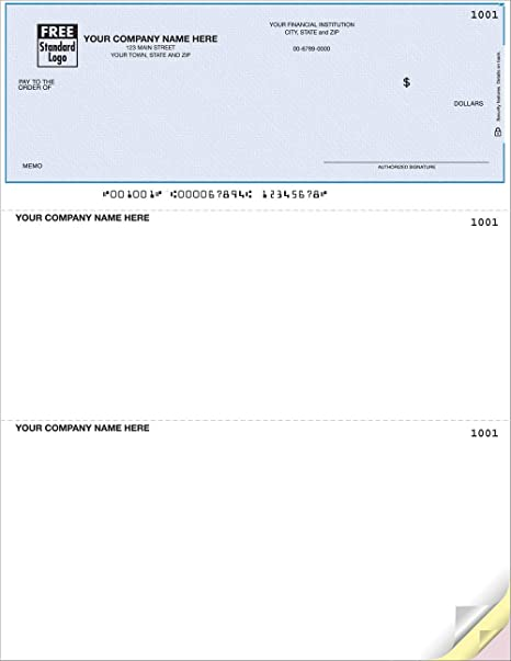 picture about Quickbooks Printable Checks called Office environment Personal computer Tests Suitable for QuickBooks/Quicken (Quany 100)